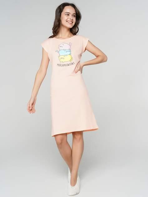 Ночная сорочка женская ТВОЕ 70463 розовая XL