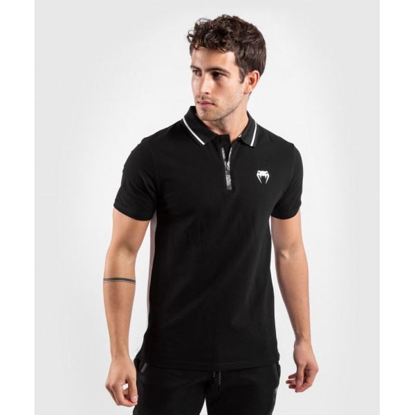 Футболка-поло Venum Legacy Black/White, черный