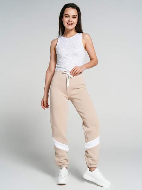 Спортивные брюки женские ТВОЕ 71997 бежевые S