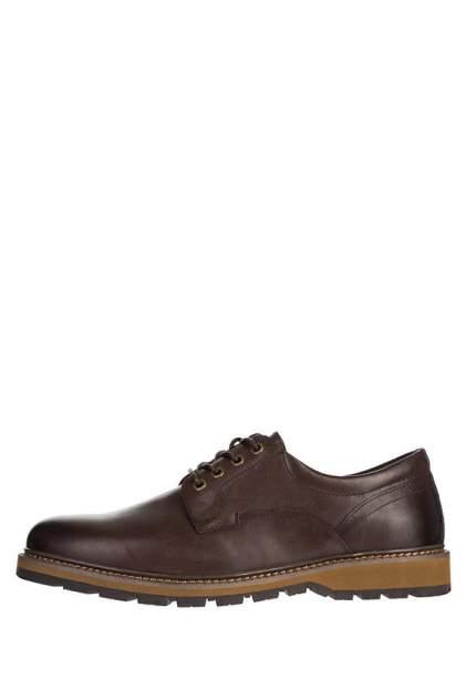 Туфли мужские M.SHOES 486801112 коричневые 45 DE