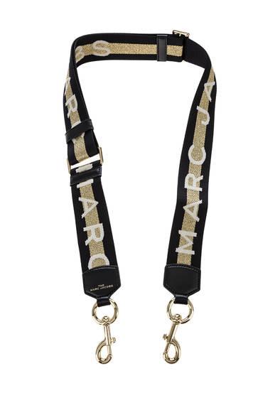 Ремень для сумки женский Marc Jacobs M0015673-765 черный/золотистый