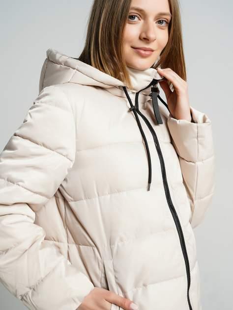 Пуховик-пальто женский ТВОЕ A6559 бежевый XL
