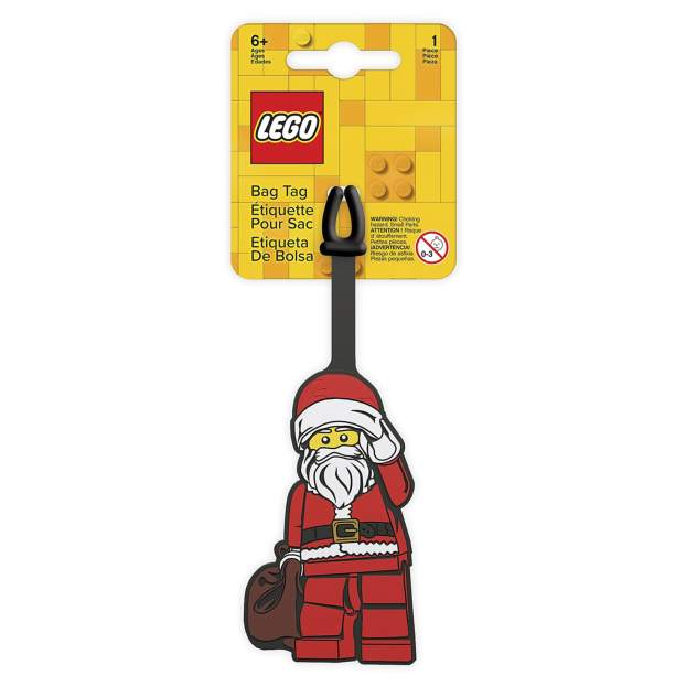 Бирка багажная LEGO 52637 Classic - Santa Claus