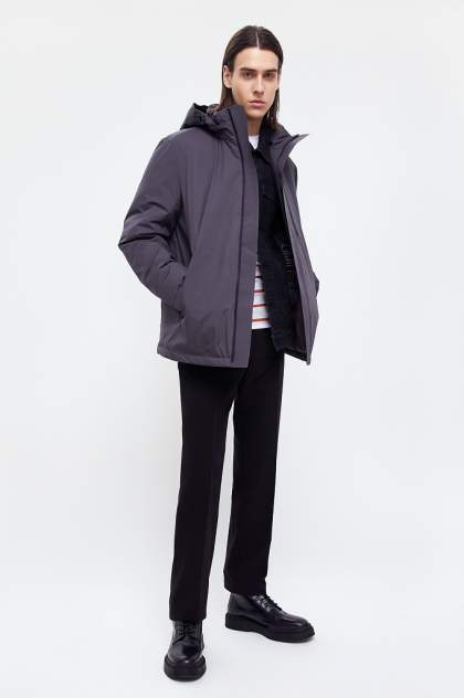 Куртка Finn Flare B21-21006, серый