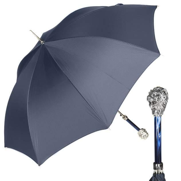 Зонт мужской Pasotti Leone Silver StripesS Dark blu Dark blu