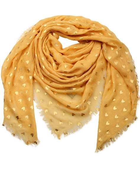 Платок женский Venera 6001401 желтый, 140х140 см