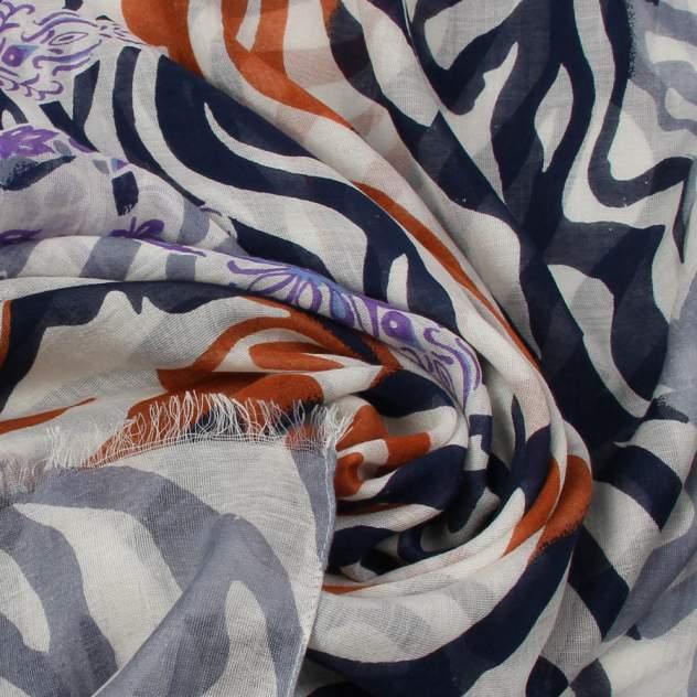 Палантин женский Venera 3400461 оранжевый/фиолетовый, 70х180 см