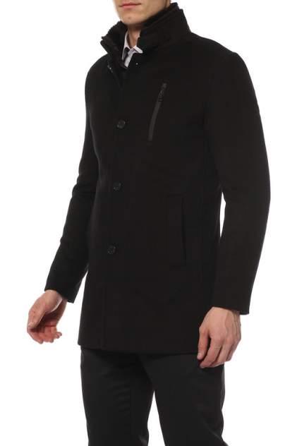 Пальто мужское CARAVAN WOOL БУРСА черное 48 RU