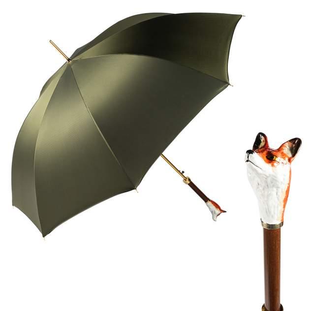 Зонт мужской Pasotti Volpe Oxford Oliva Fodero Anello Oxford Oliva