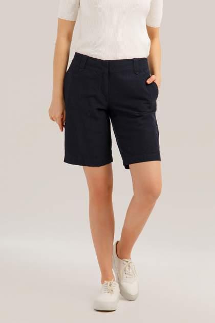 Повседневные шорты женские Finn Flare S19-12017 синие M