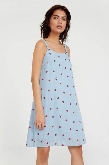 Женское платье Finn Flare S20-32062, голубой
