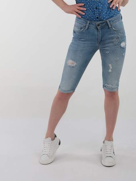 Джинсовые шорты женские A passion play SQ61375 голубые 26