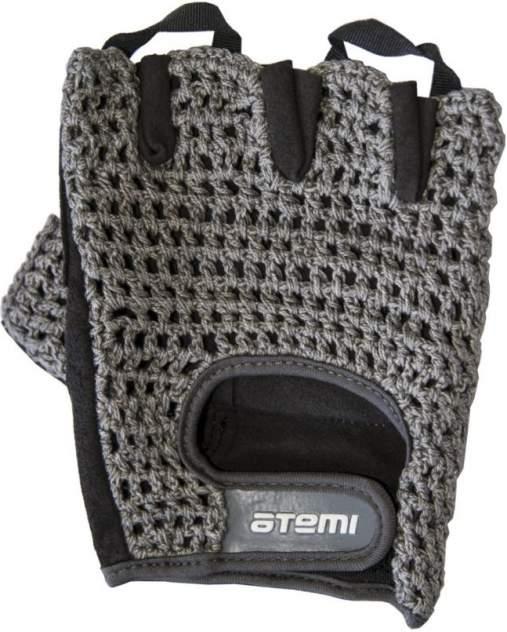 Мужские перчатки Atemi AFG01M, серый, черный