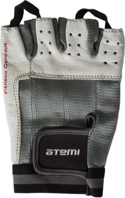 Перчатки для фитнеса Atemi, черно-белые, AFG02 (XL)