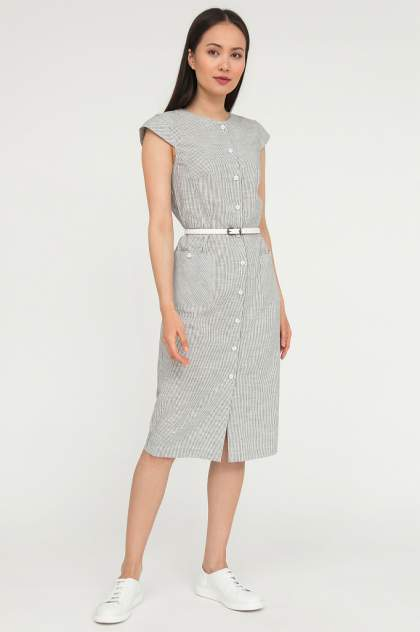 Повседневное платье женское Finn Flare S20-11082 белое XS