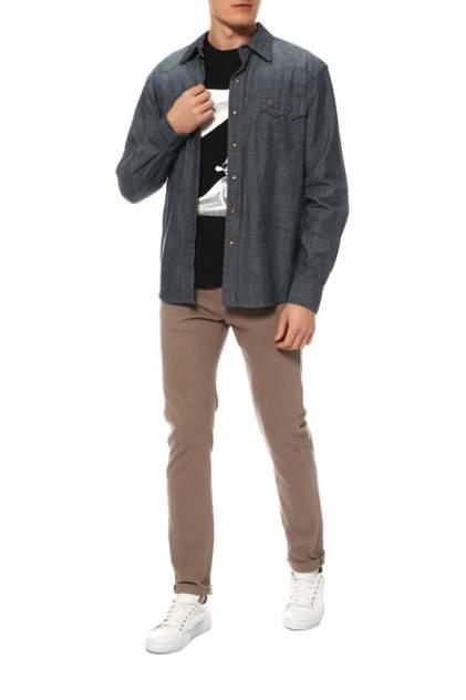 Сорочка мужская CINCH HTW4005002 синяя XL