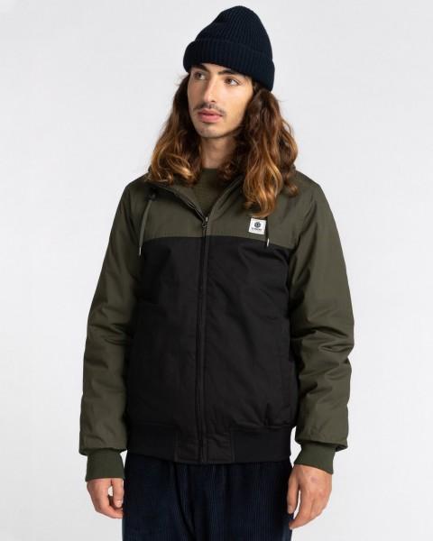 Водонепроницаемая мужская куртка Wolfeboro Dulcey Two Tones, черный, L
