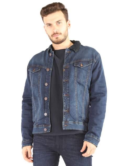 Джинсовая куртка мужская Timezone SQ65294 синяя XXL