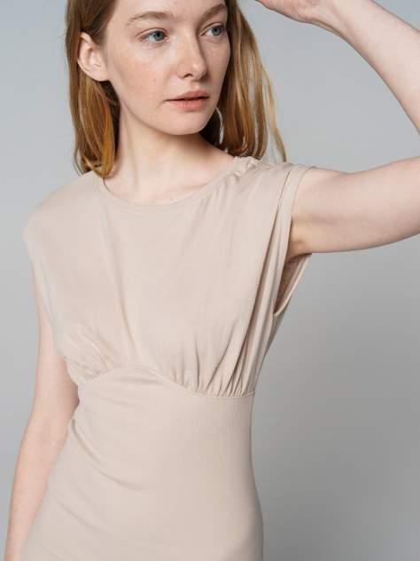 Платье женское ТВОЕ 80605 бежевое L