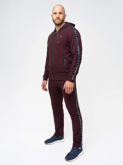 Спортивный костюм мужской Великоросс Мастер, бордовый