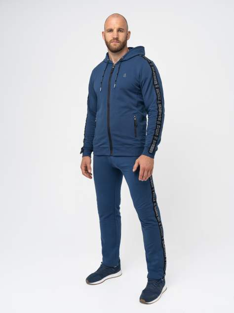 Спортивный костюм мужской Великоросс Мастер синий 46 RU