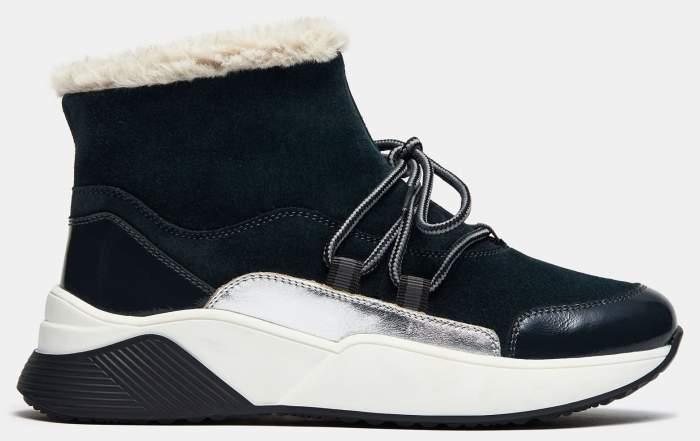 Высокие кроссовки женские Ralf Ringer 682207 синие 39 RU