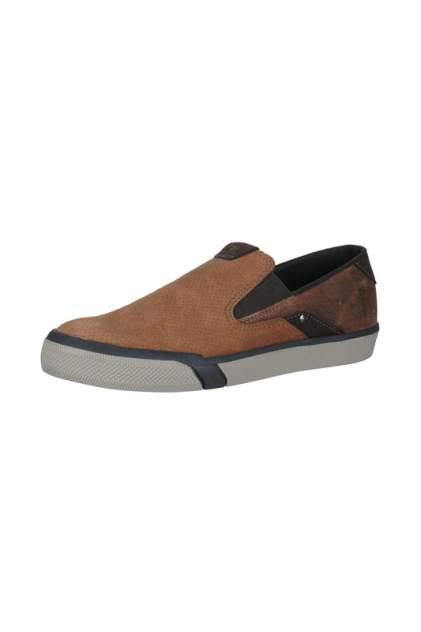 Слипоны мужские West Coast 112618-3 коричневые 40 RU