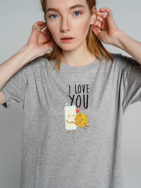 Ночная сорочка женская ТВОЕ 75695 серая XL