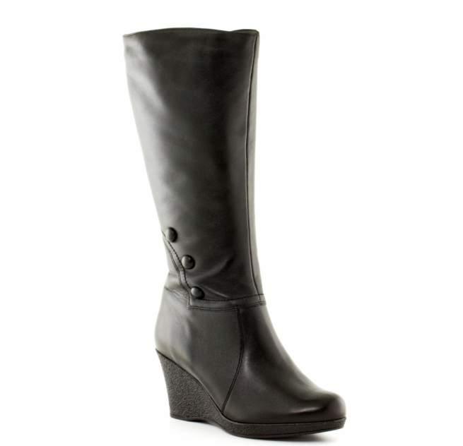 Сапоги женские JANITA 48439-501-93-F61401 черные 39 RU