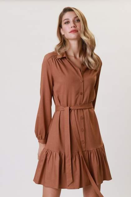 Повседневное платье женское Vittoria Vicci 1-20-2-0-00-52095 коричневое L