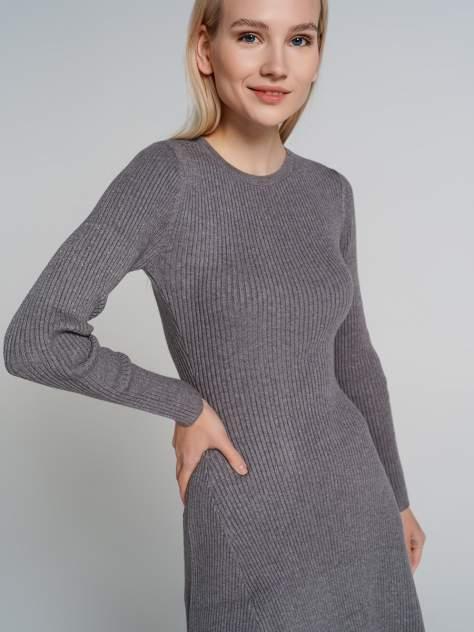 Повседневное платье женское ТВОЕ A6528 серое XL
