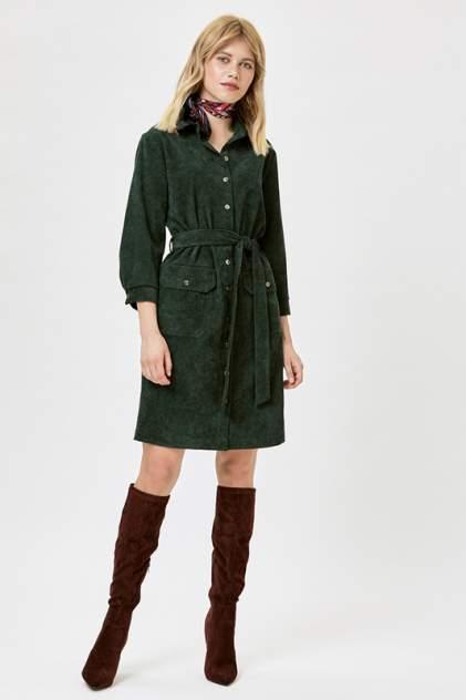 Платье-рубашка женское Vittoria Vicci 1801-9196-2 зеленое XL