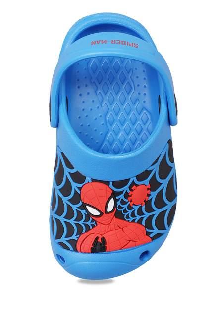 Сабо детские Spider-Man, цв. синий р.27