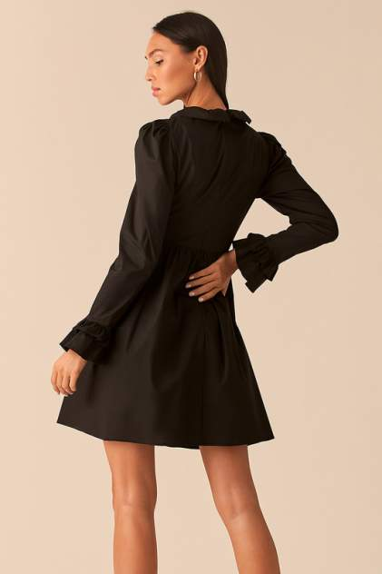 Повседневное платье женское LOVE REPUBLIC 359059584 черное 40