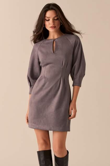 Повседневное платье женское LOVE REPUBLIC 450116528 серое 40