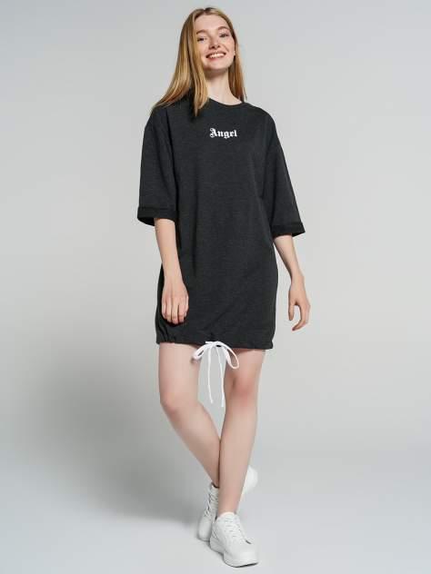 Платье-толстовка женское ТВОЕ 76025 серое S