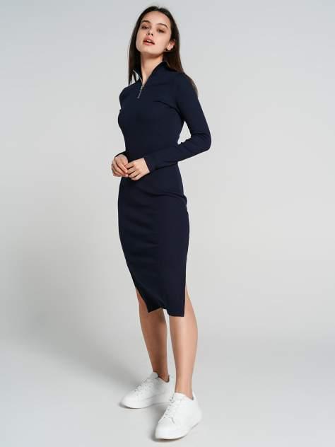 Платье-водолазка женское ТВОЕ 75542 синее XL