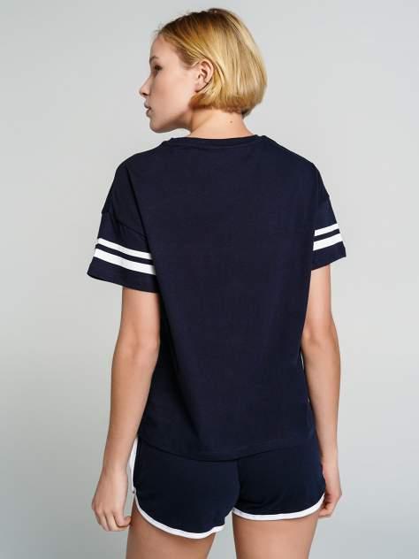 Пижама женская ТВОЕ 70956 синяя M
