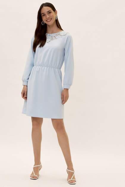 Повседневное платье женское Vittoria Vicci 1907-01-52097 голубое 40