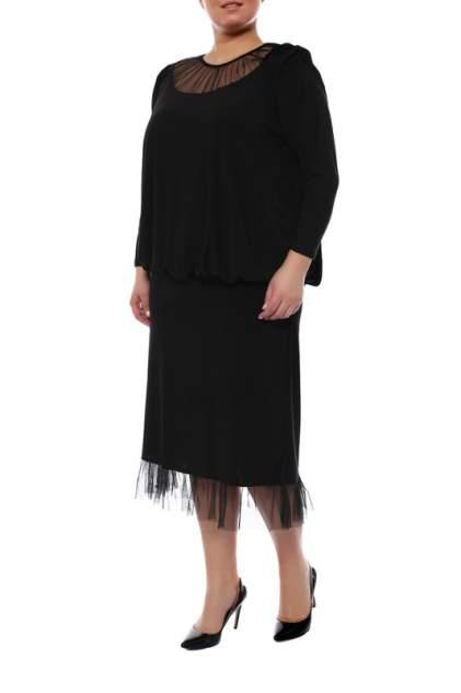 Повседневное платье женское ARTESSA PP19107BLK01 черные 60-62