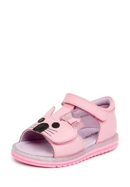 Сандалии детские Lovely Puppy, цв.розовый