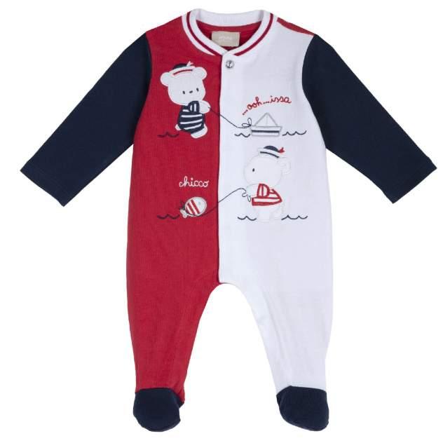Комбинезон Chicco для мальчика с мишками р.62 цвет красный