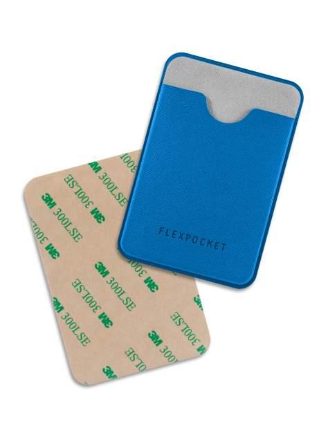 Чехол для карты/пропуска Flexpocket POL-7ES синий