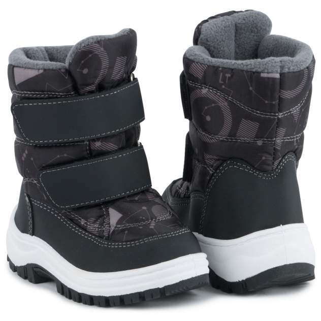 Ботинки для детей Kidix HDFW20-32 black черный 24