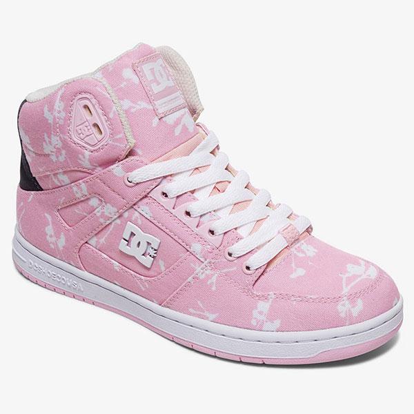 Женские высокие кеды Pure High-Top TX, розовый, 39,5
