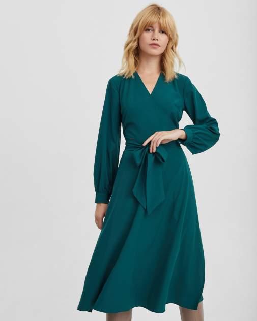 Повседневное платье женское BARMARISKA Base/5 зеленое 46