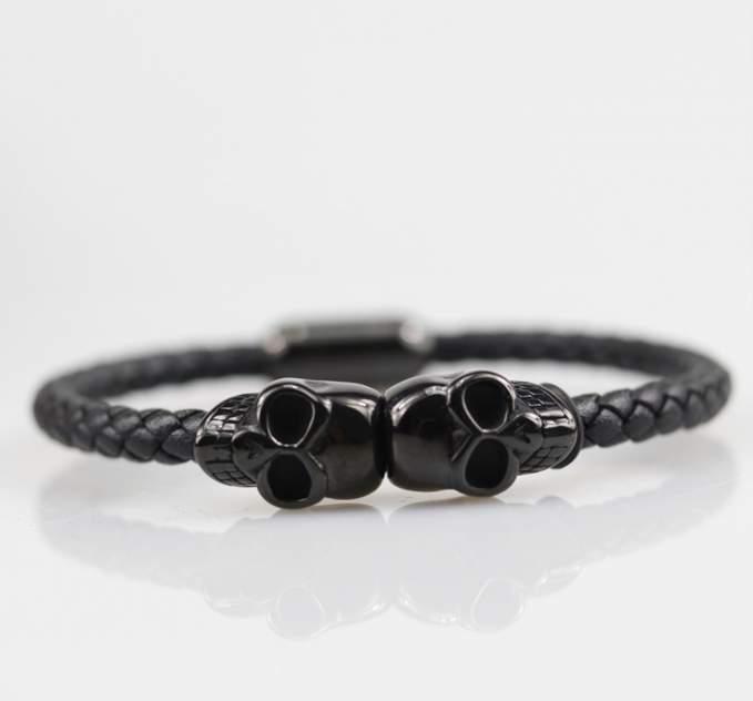 Браслет мужской Black Heart s015 черный