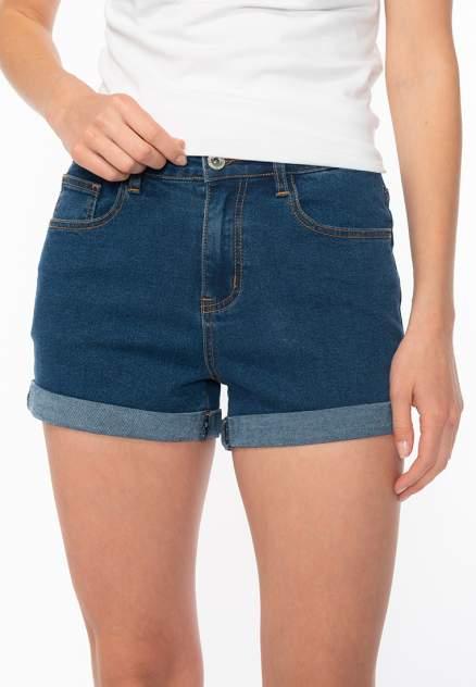 Джинсовые шорты женские Modis M201D00353 синие 44 RU