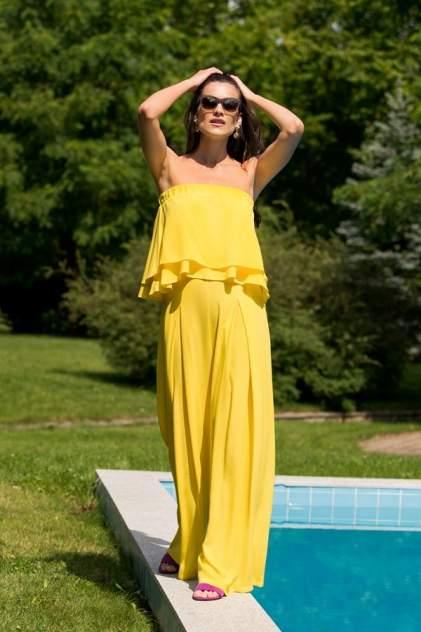 Брюки женские Laete 51783-1 жёлтые M