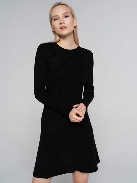 Повседневное платье женское ТВОЕ A6528 черное XL